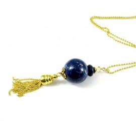 Pendentif imitation lapis lazuli