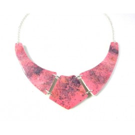 Collier palstron rose