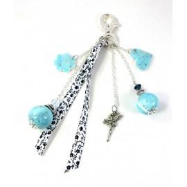Bijou de sac bleu, idée cadeau original
